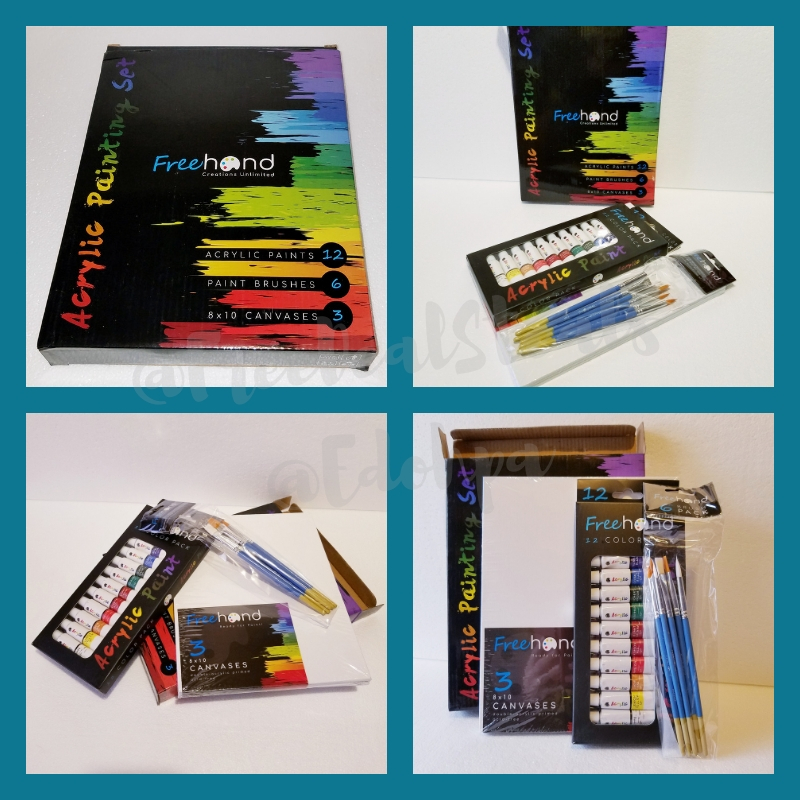 Ultimate Acrylic Paint Set