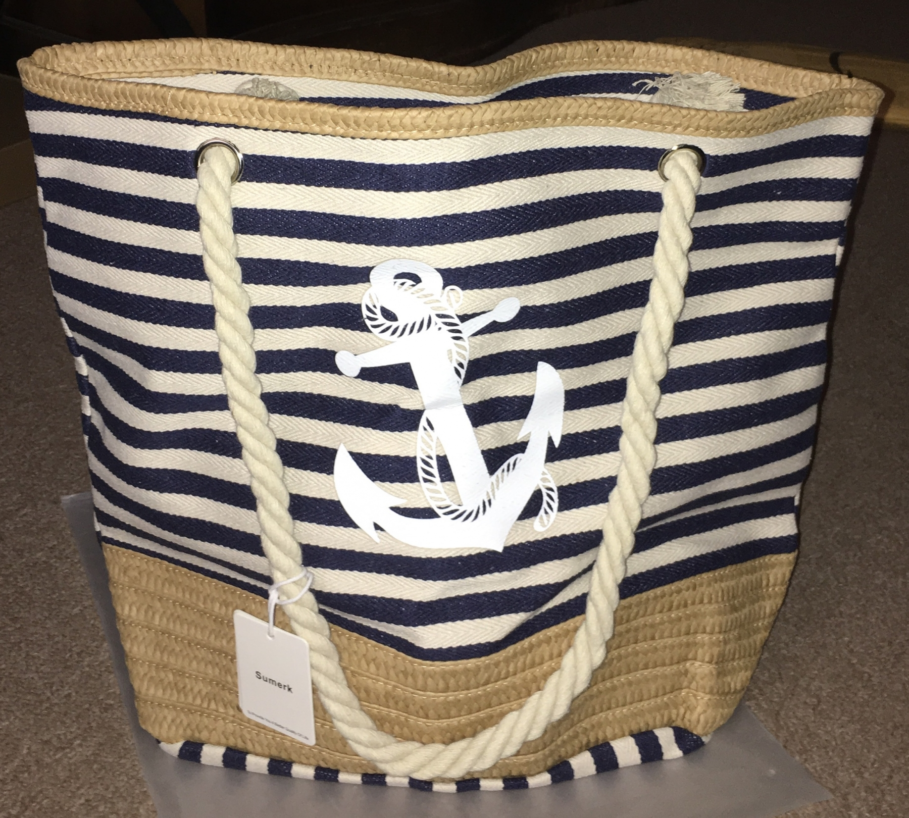 Beach vibes bag