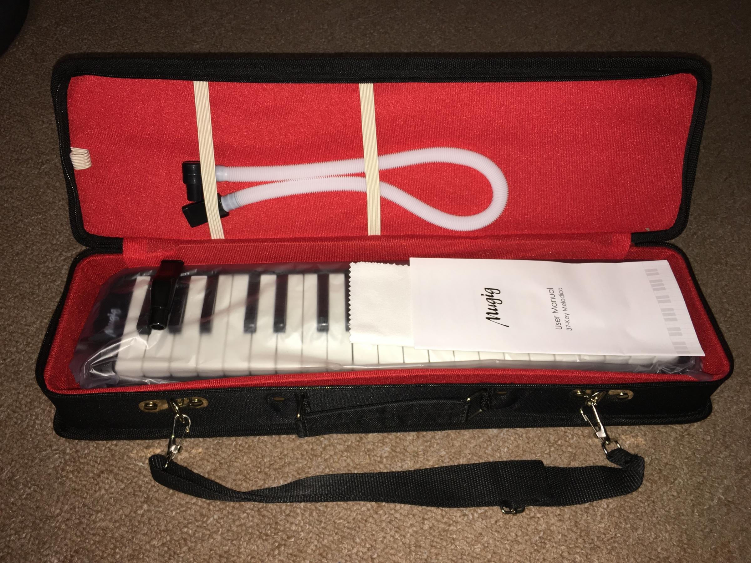 Versatile melodica piano