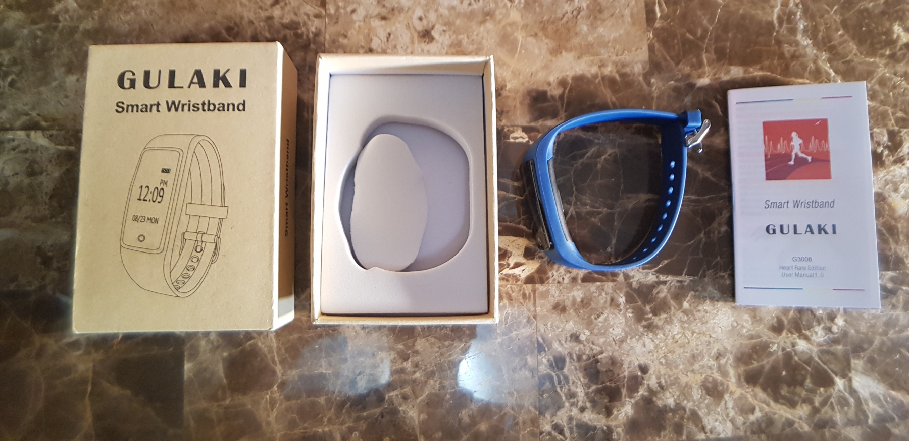 Smart Watch is fine works very well but not so good quality