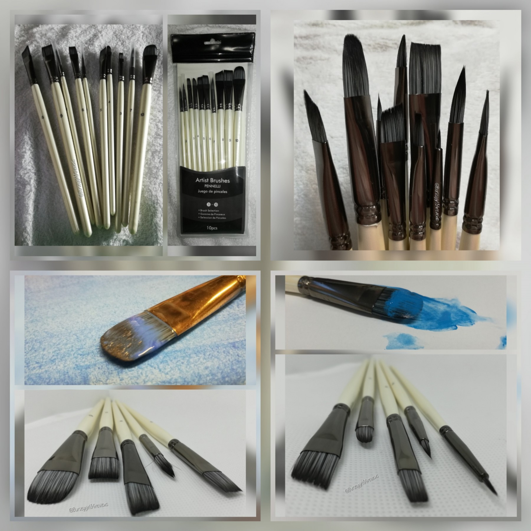Beautiful brushes