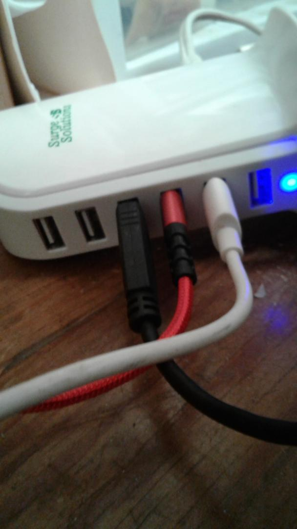 USB cords for charging and syncing