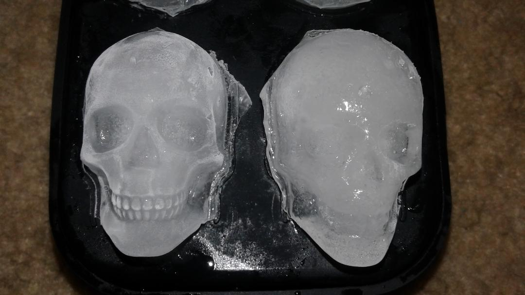 Really cool ice cubes
