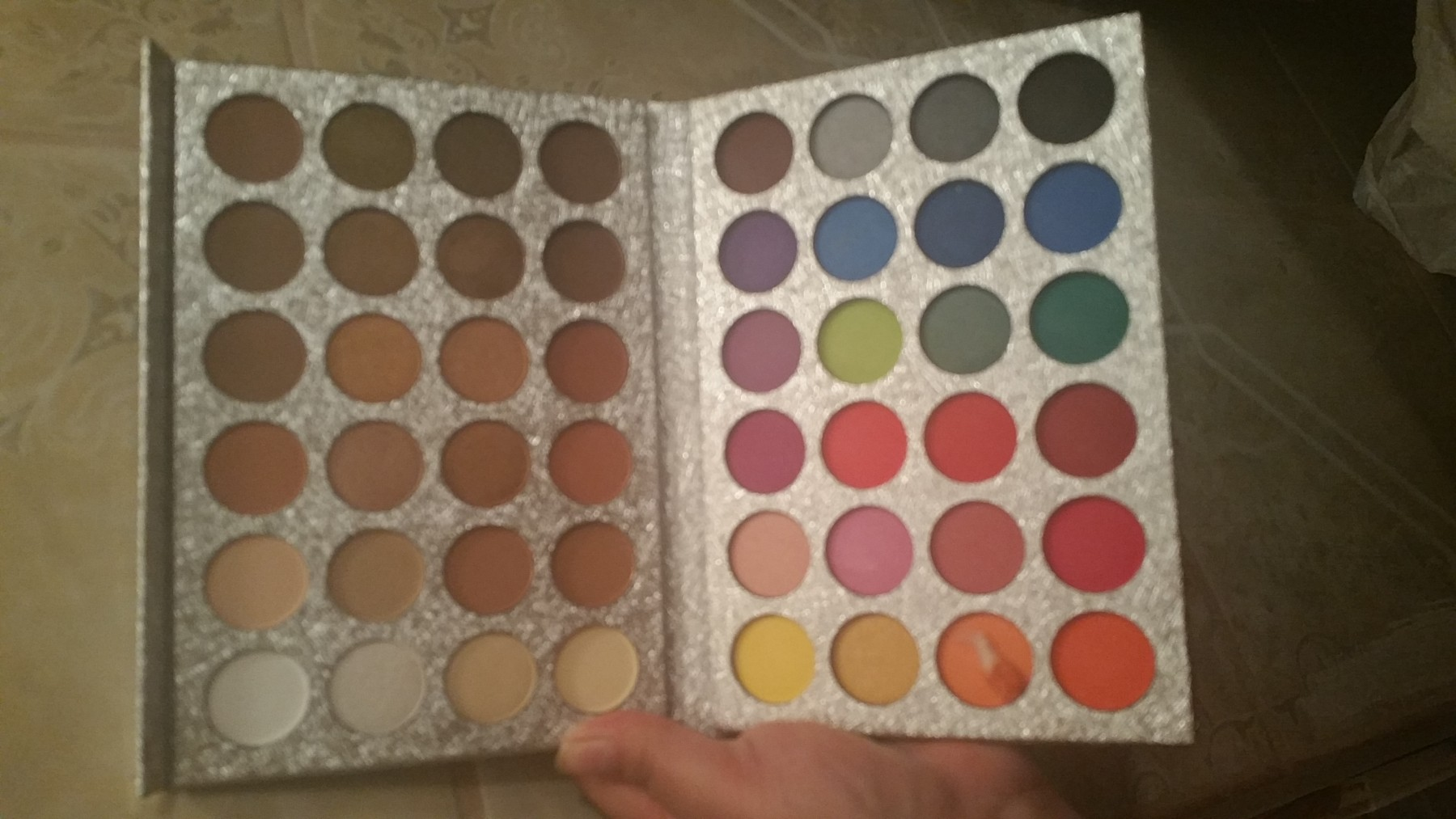 Beautiful eyeshadow pallette