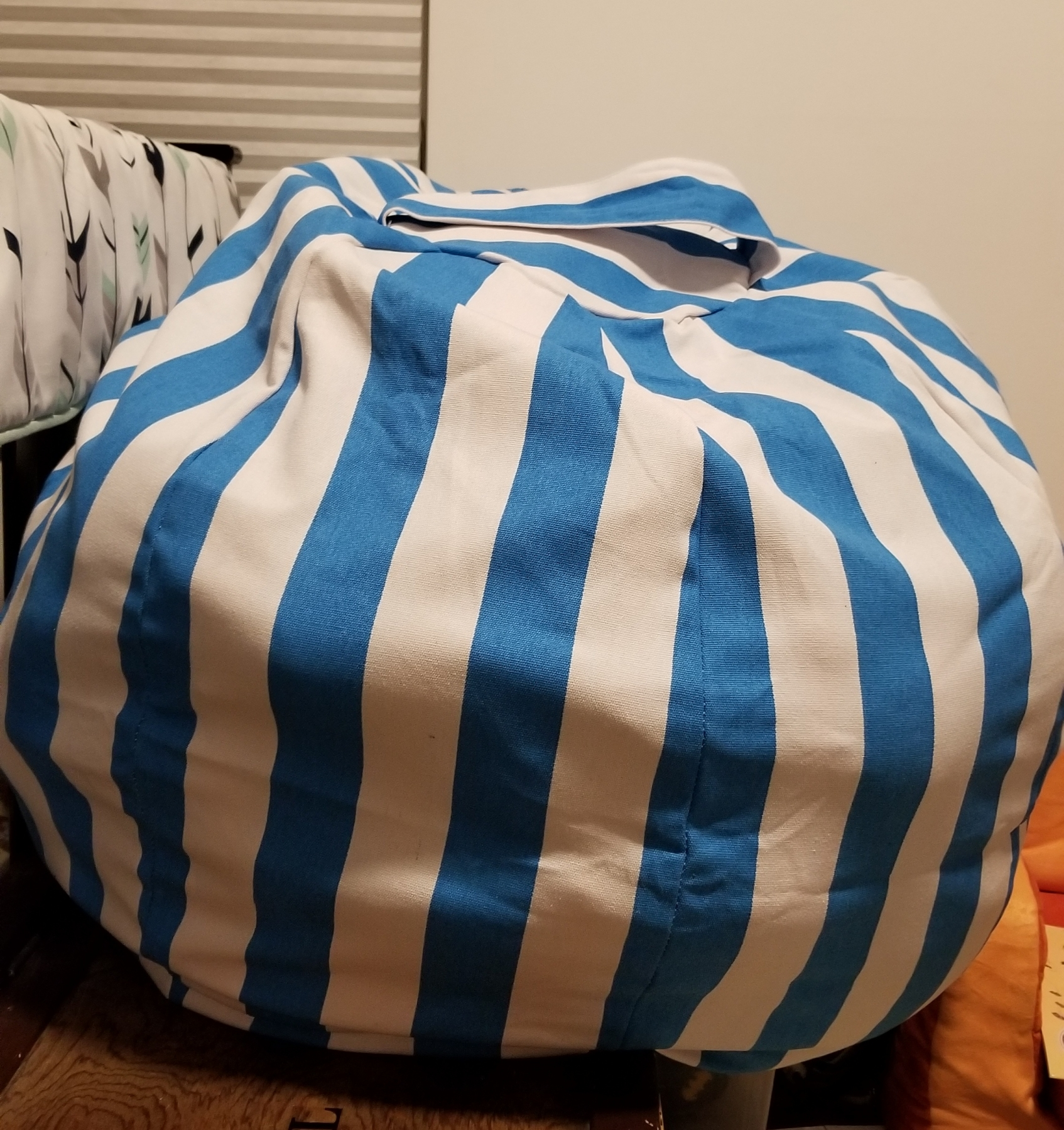 Storage bean bag