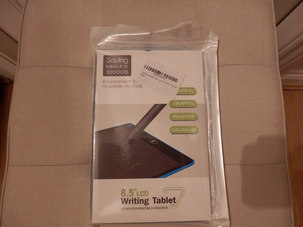The LCD writing tablet for notes, drawings and messages by Uverbon