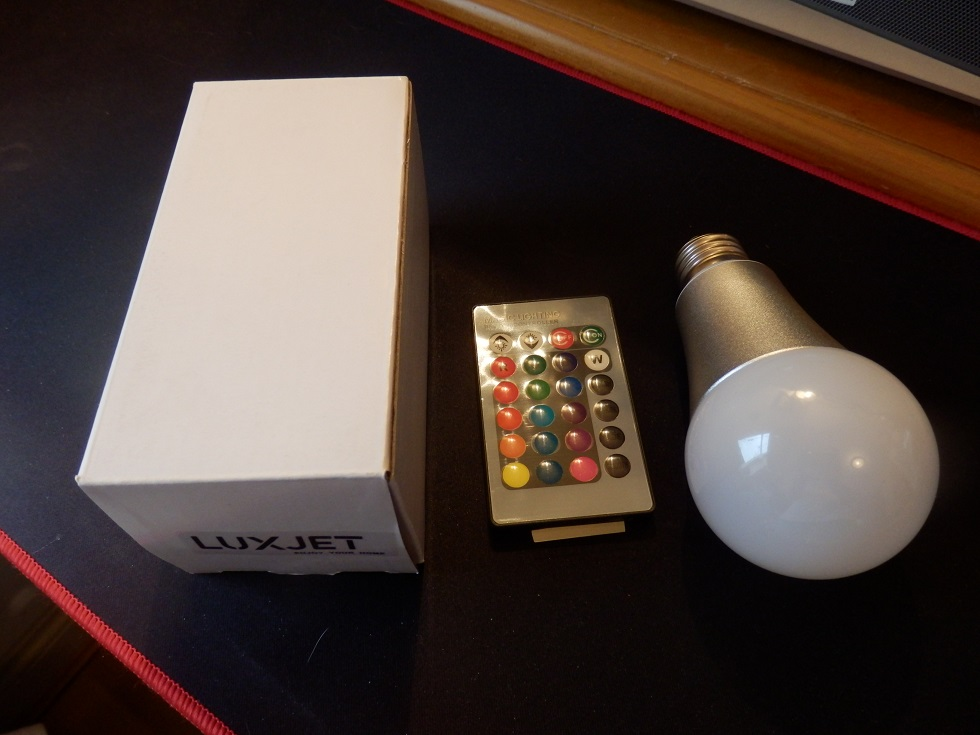 Versatile light bulb with remote control by LUXJET