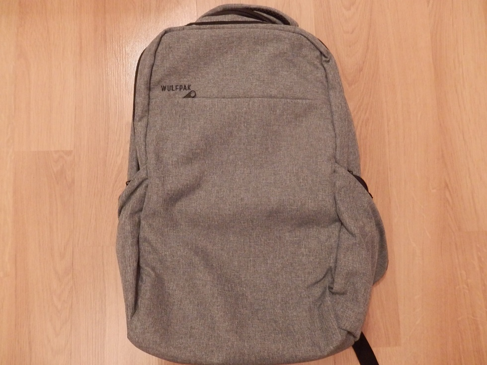 Wulfpac Laptop Professional Anti-Theft Backpack, Large, Slim, and Waterproof
