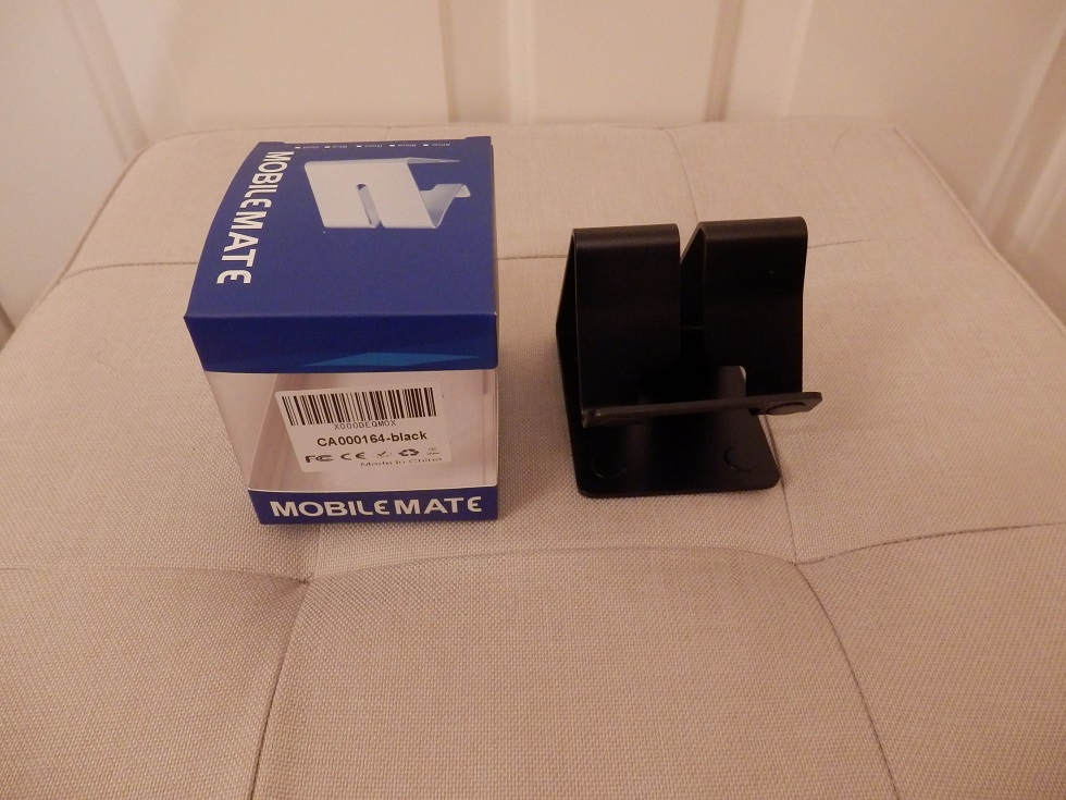 Safe and useful aluminium stand for phone or tablet from Ecandy