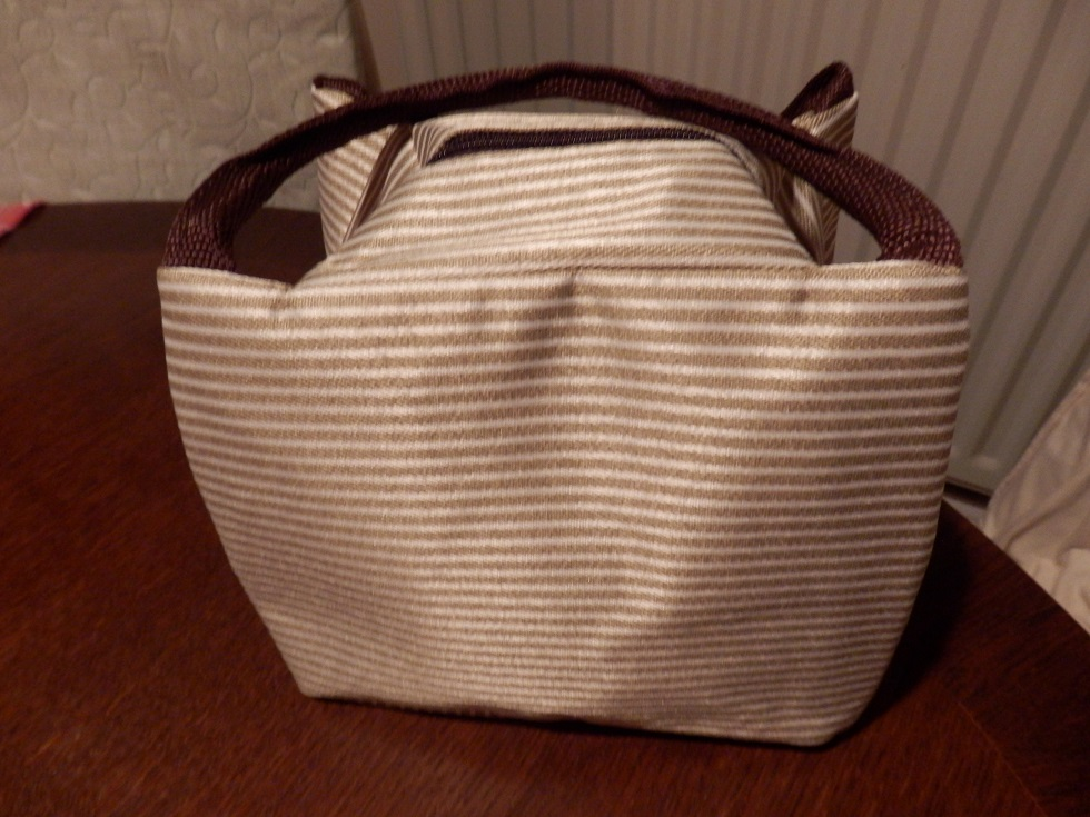 Portable lunch bag with a fashionable design by Giana Chinwe