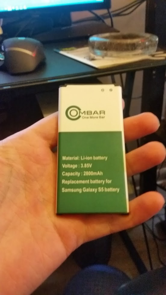 Replacement Battery for Samsung Galaxy S5