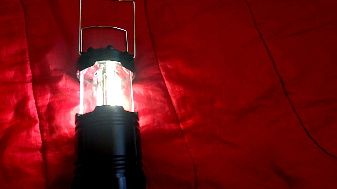 A Bright Battery Powered LED Lantern