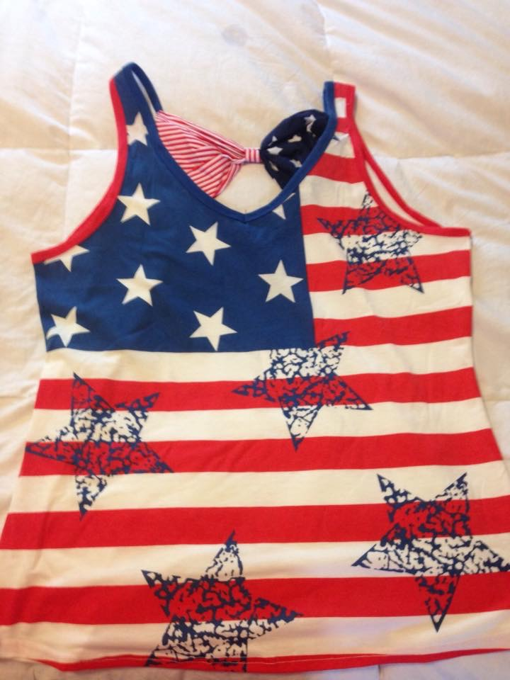 Adorable Patriotic Shirt!