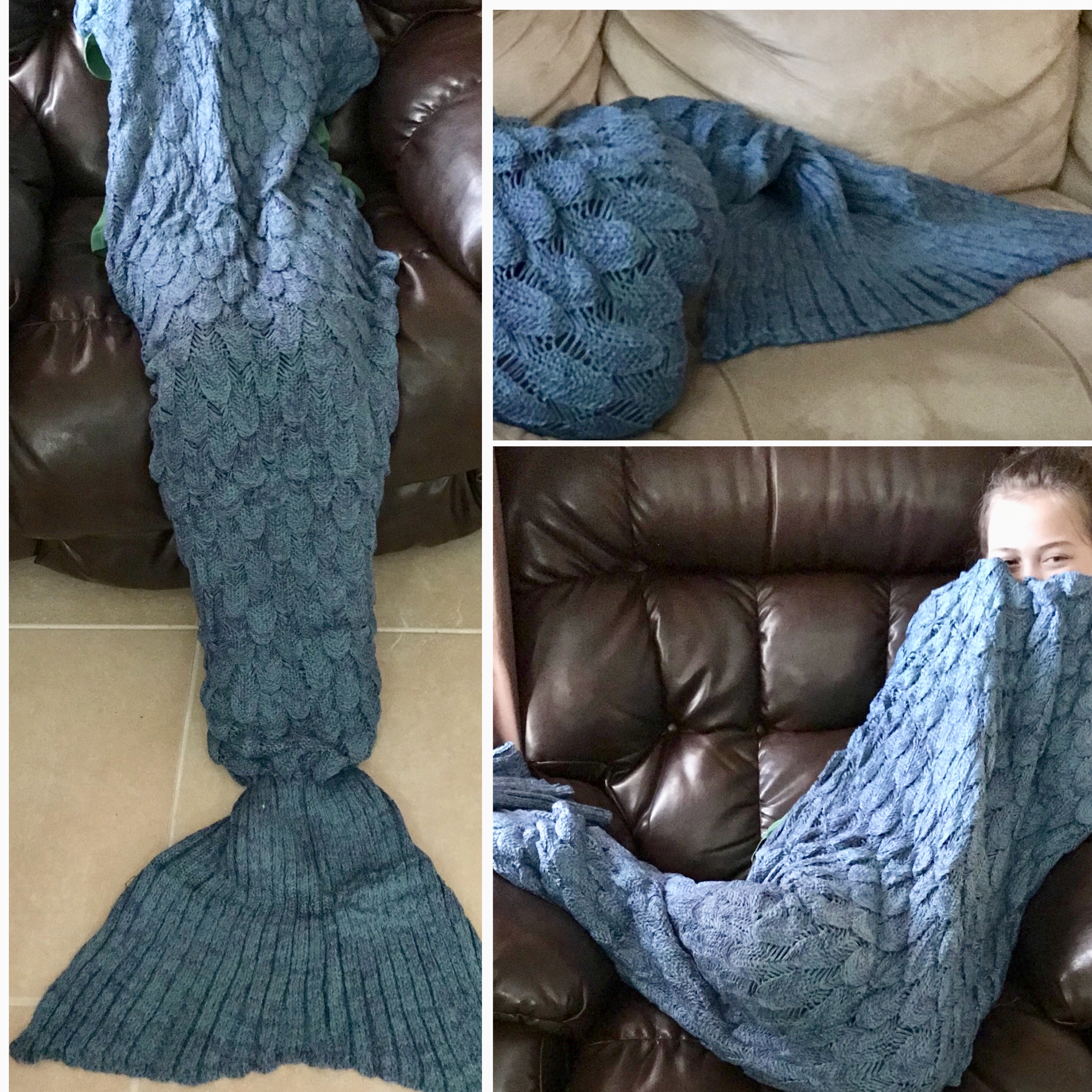 Mermaid cozy