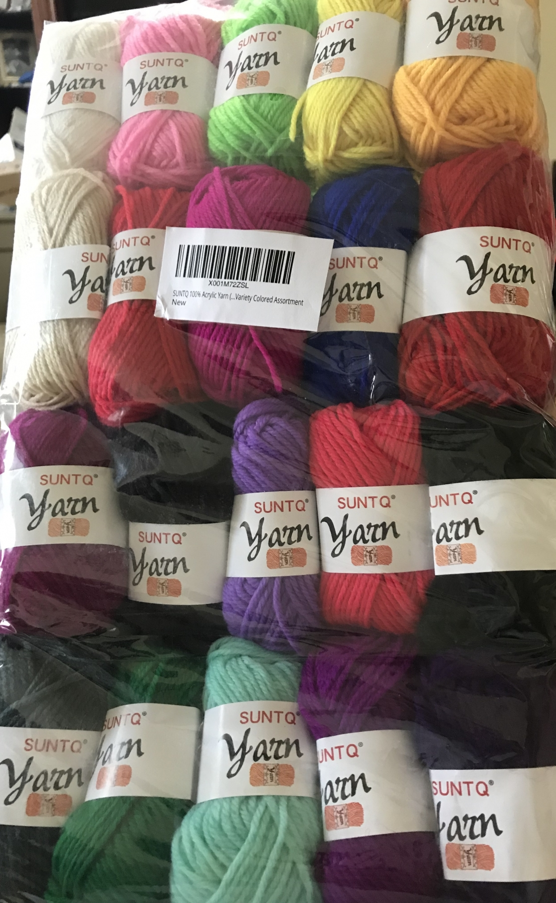 Nice Colorful Yarn