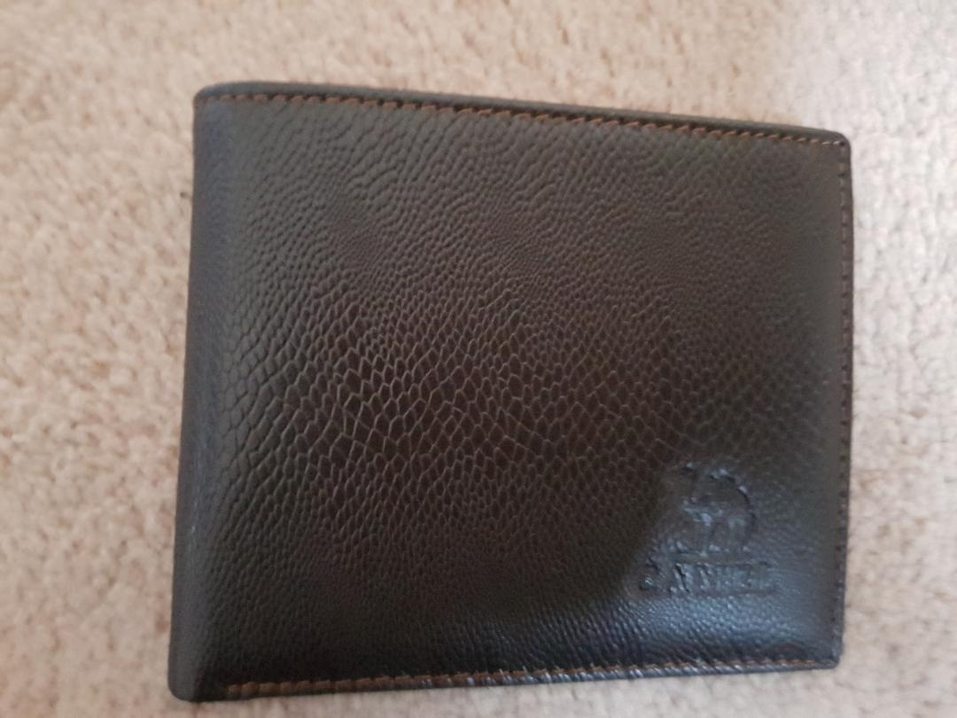 A classy looking wallet.