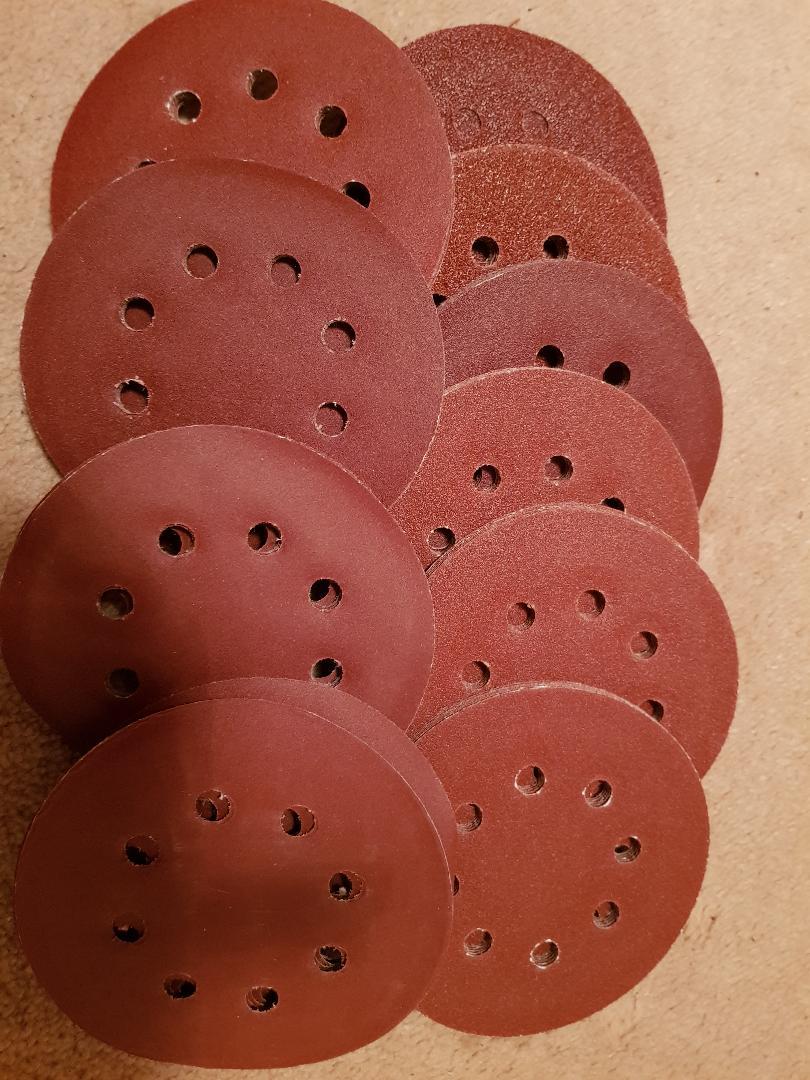 Great range of sanding discs.