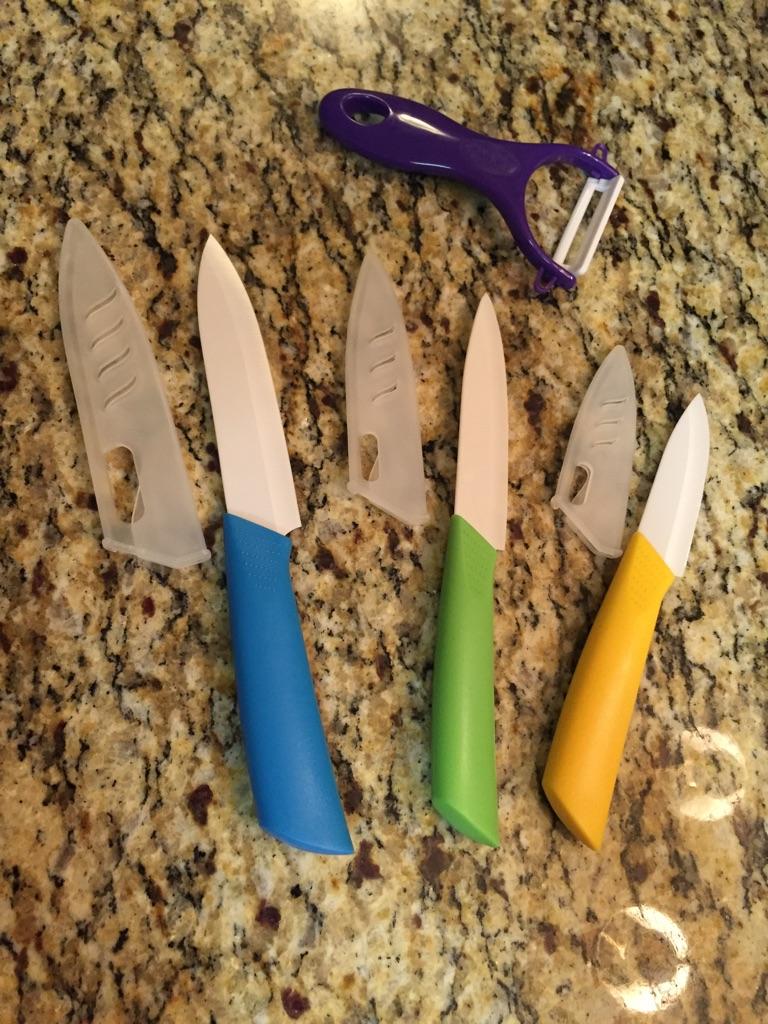 7 piece Ceramic Cutlery