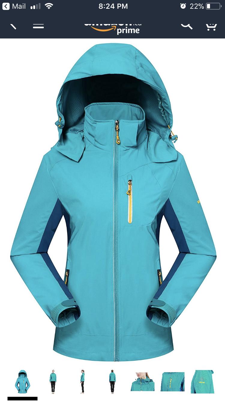 Light form fitting spring jacket