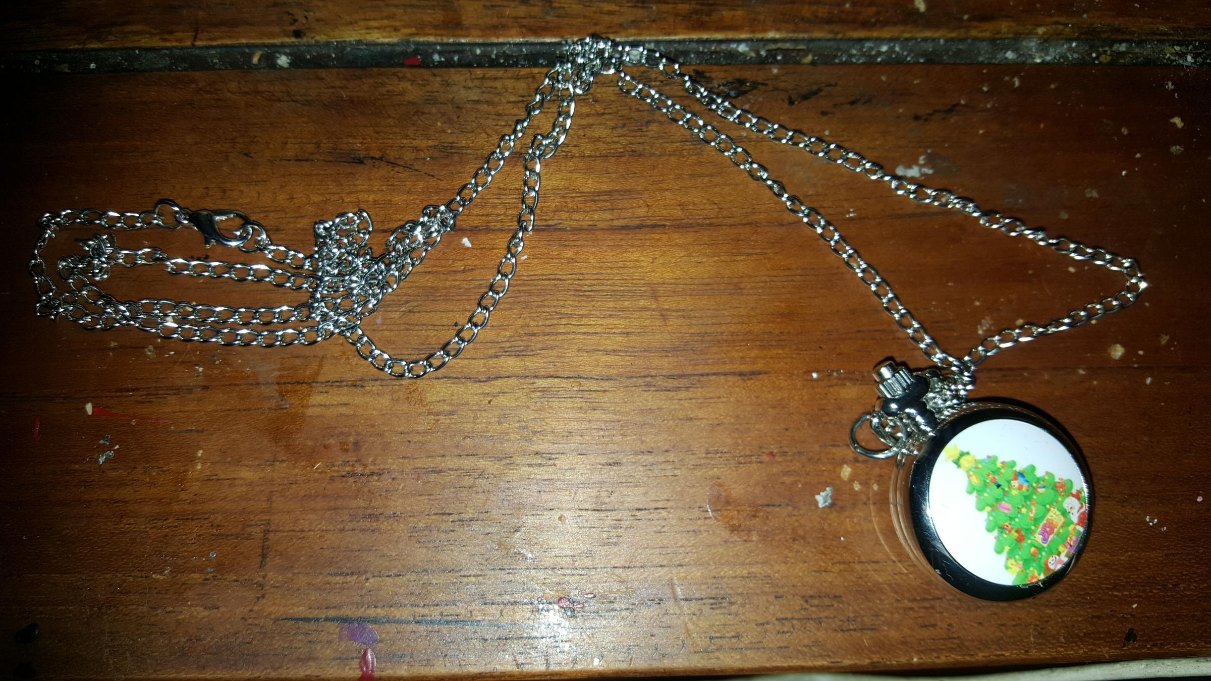 Magnifique collier de noël