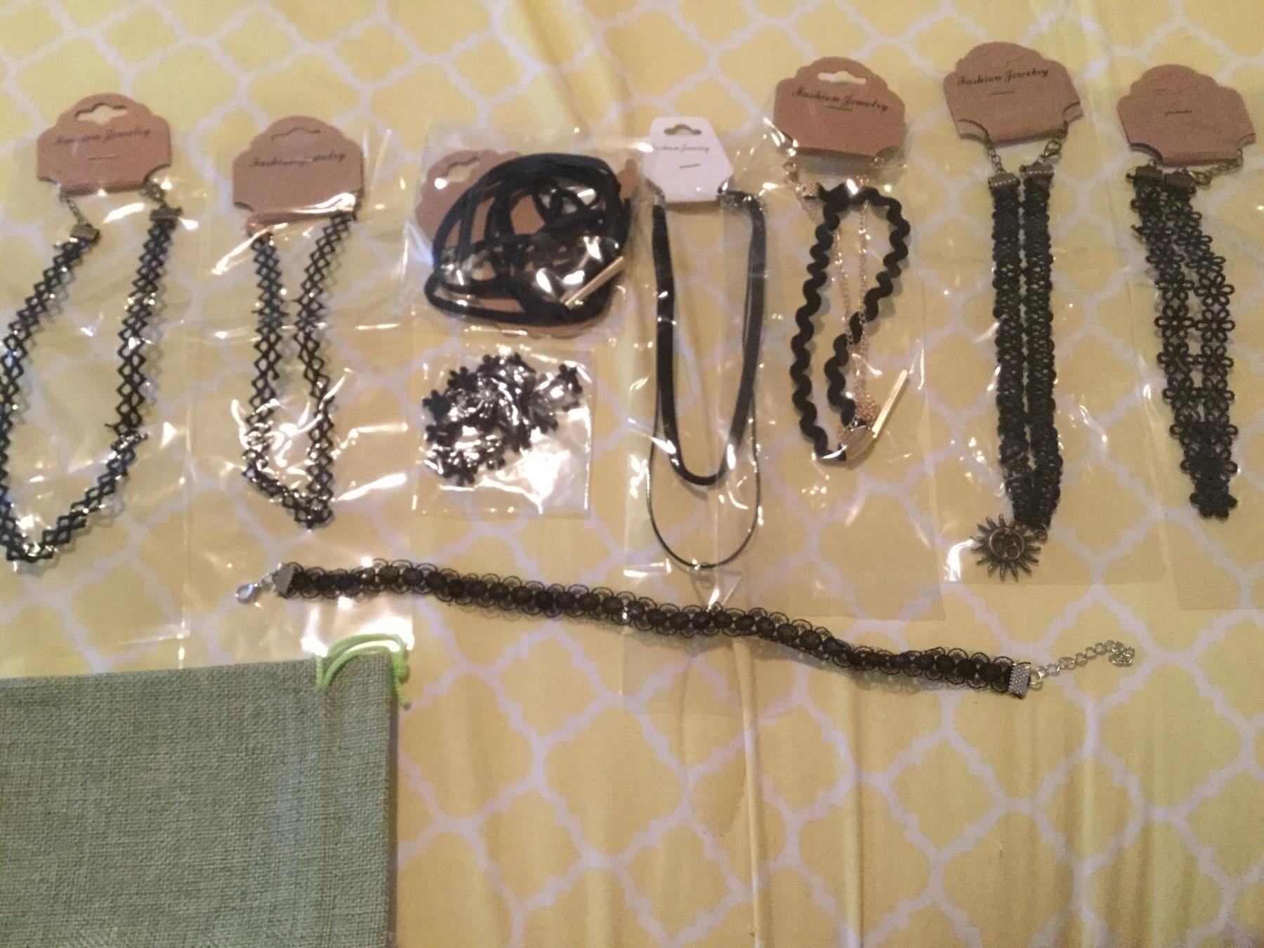 Cute black choker necklaces
