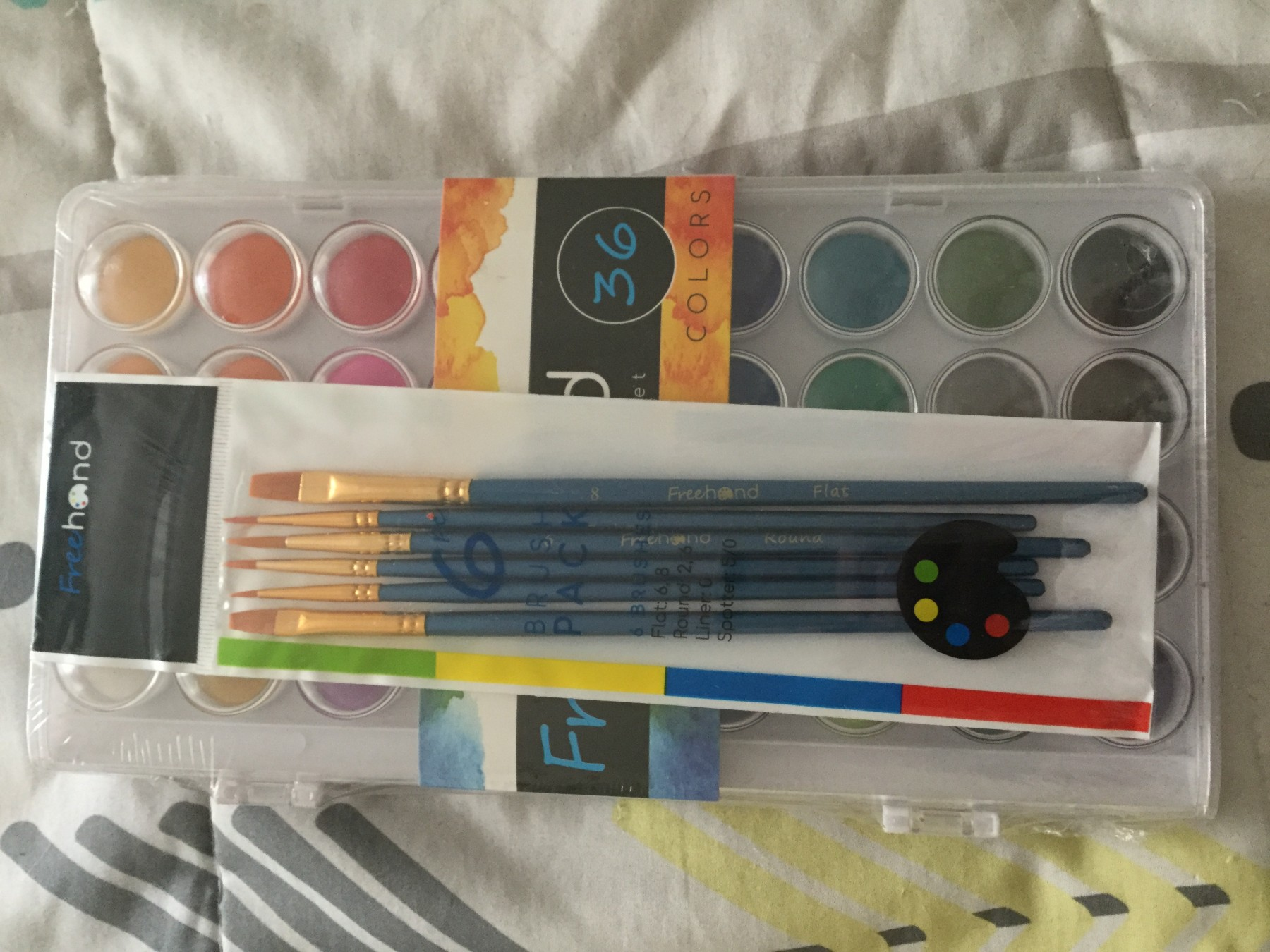 Awesome Watercolor paint set