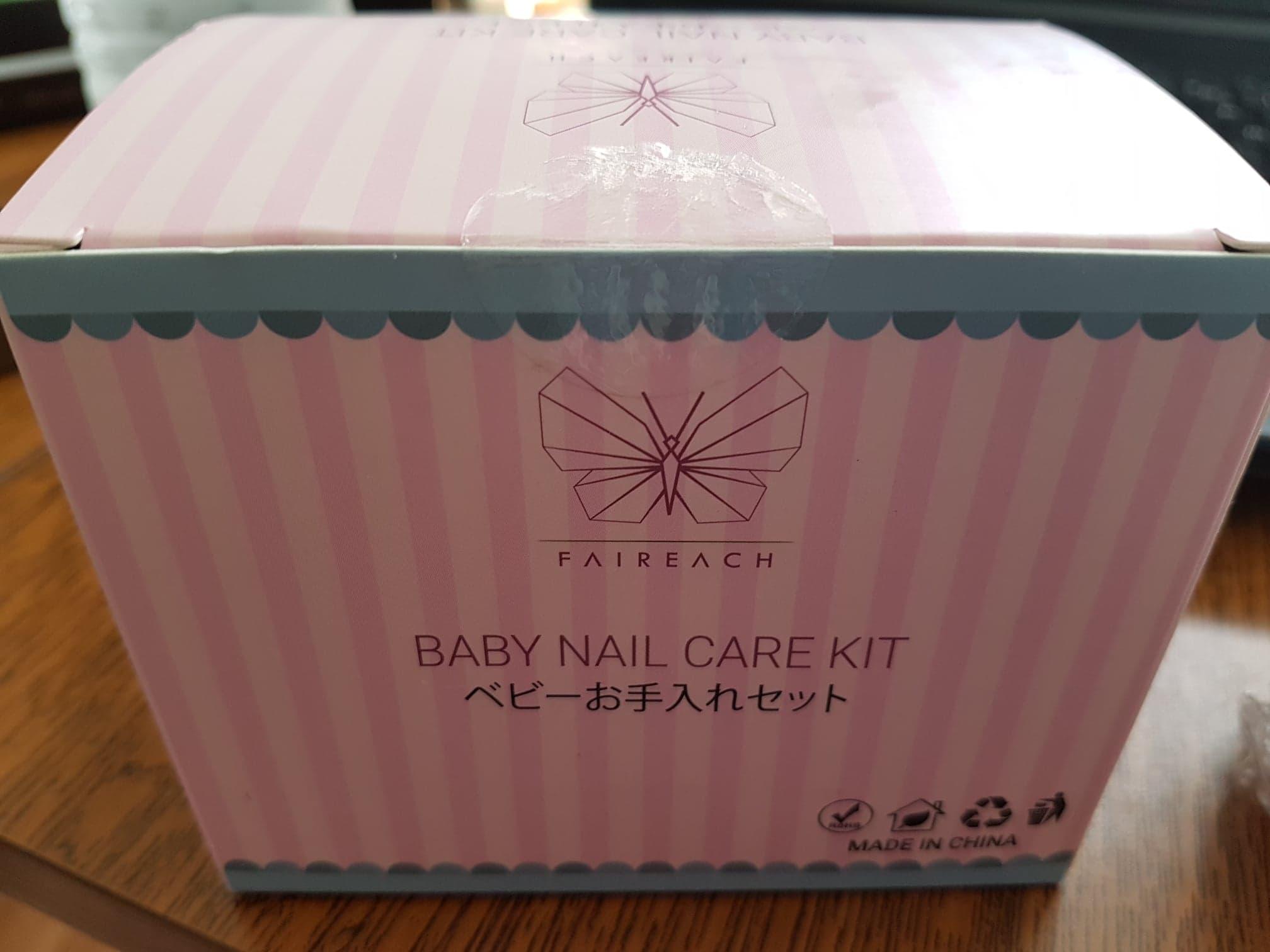 Trousse pour le soin des ongles de bébé