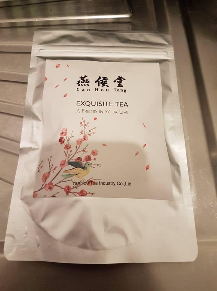 20 sachets de thé sans sucre.