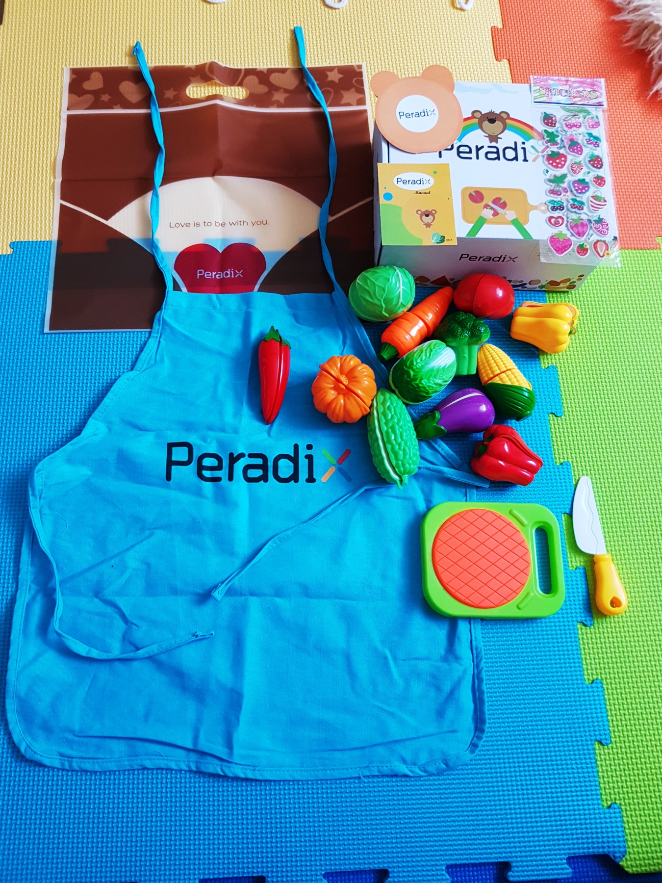 Lovely Play Food Set