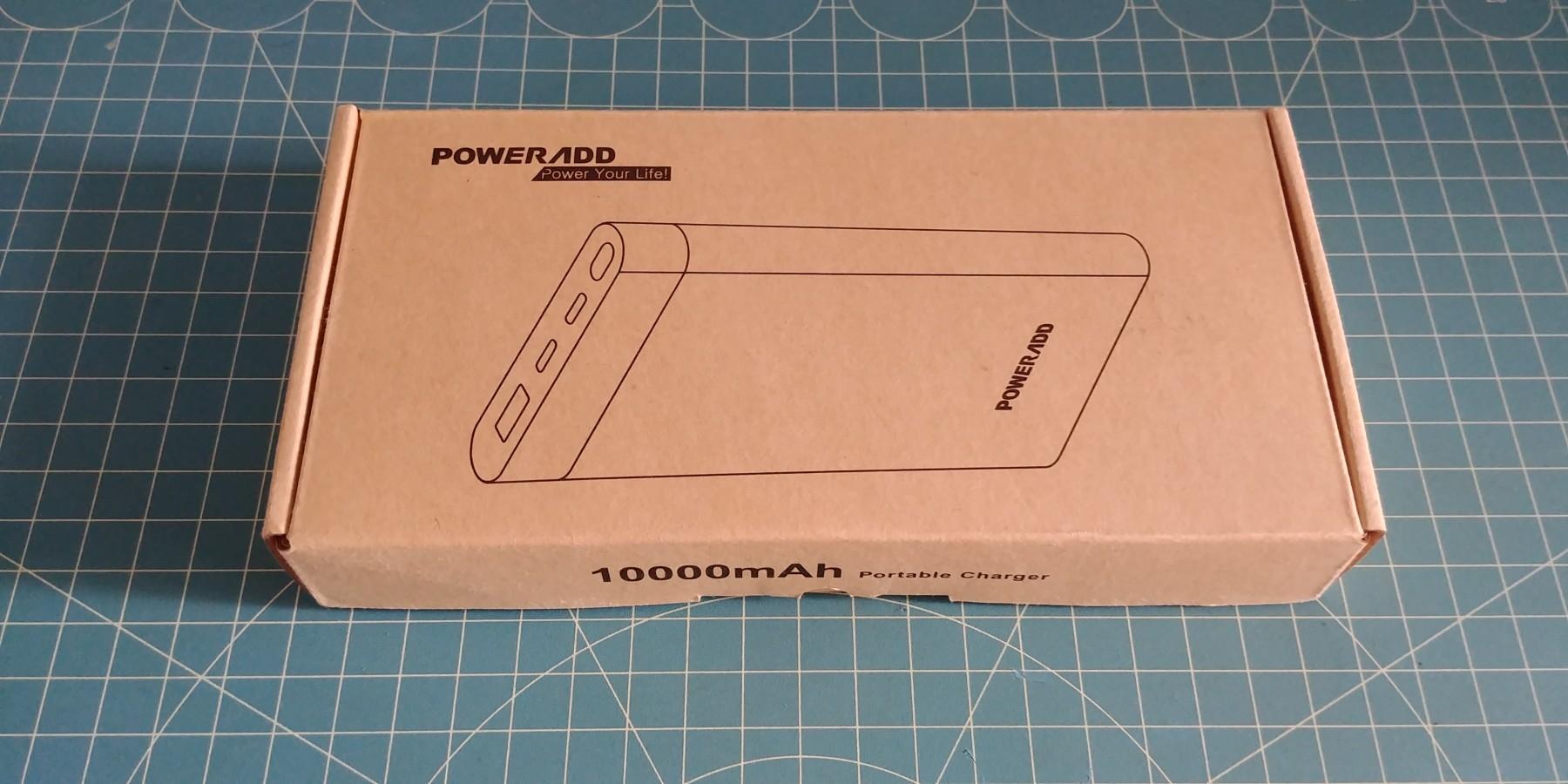 Batterie externe de 10000mAh.