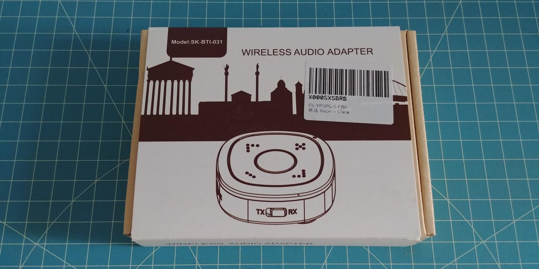 Récepteur/émetteur audio bluetooth 4.2