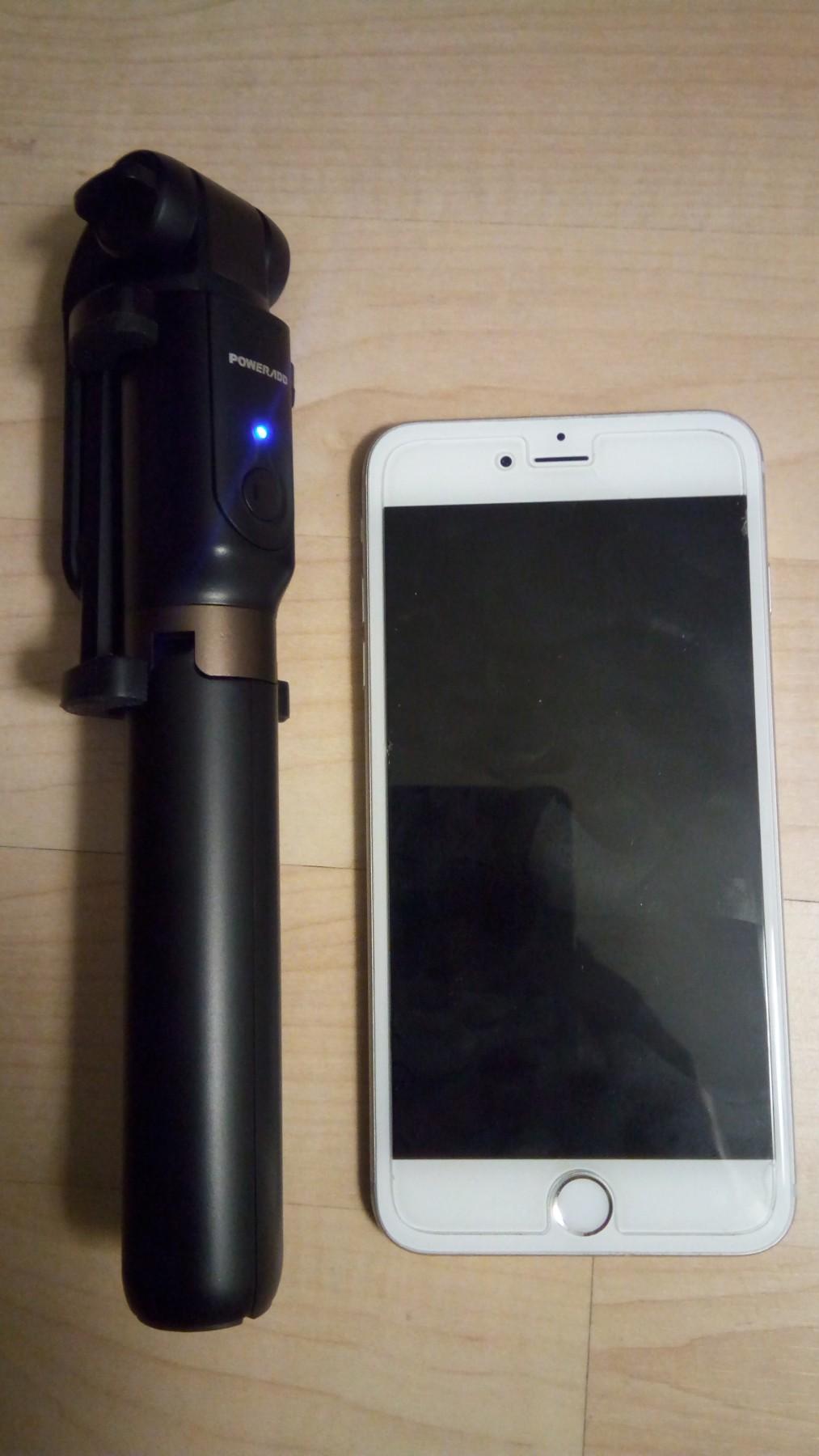 Compact and lightweight selfie stick