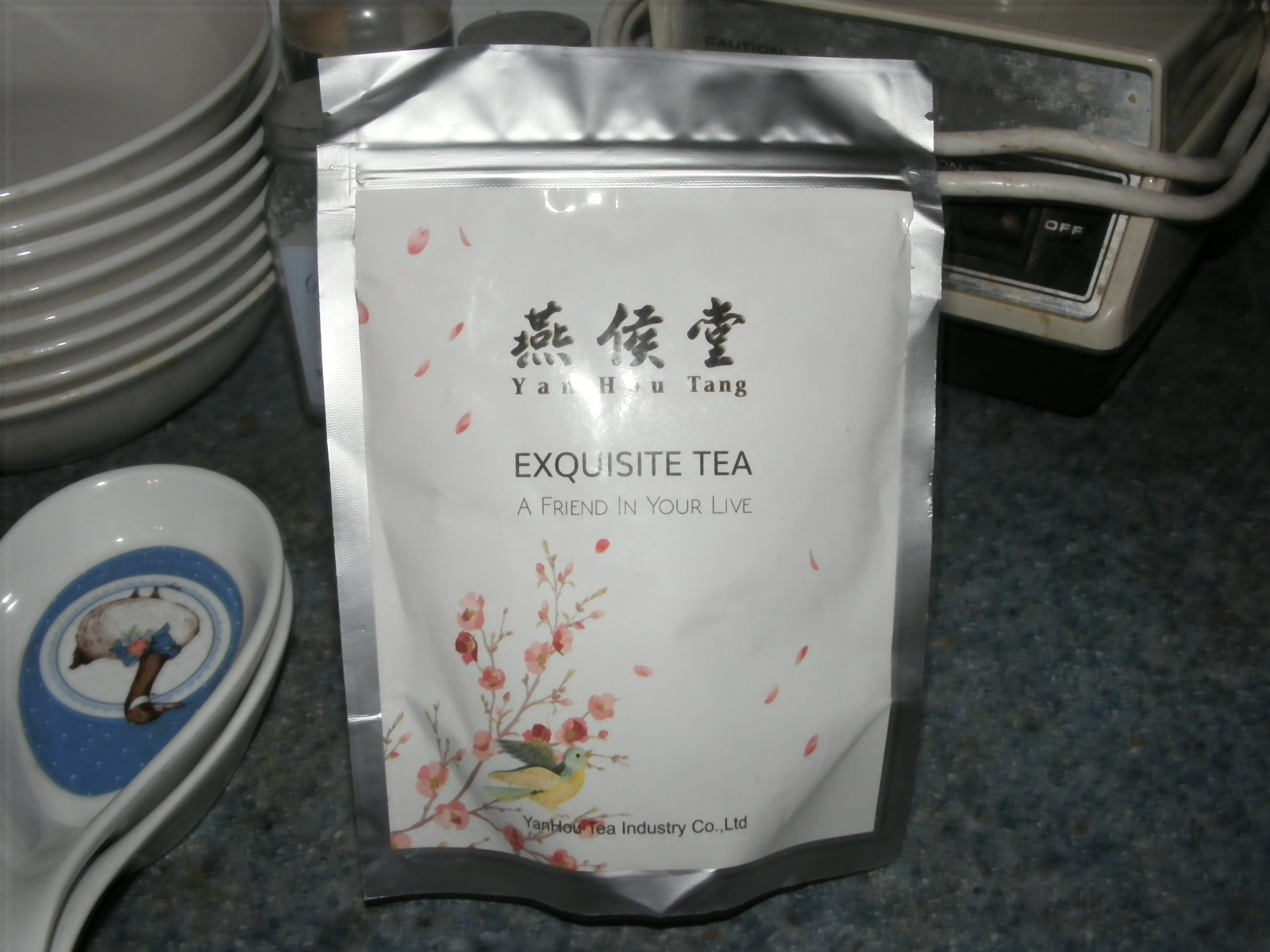 Delicious tea, like I've come to expect from this company.