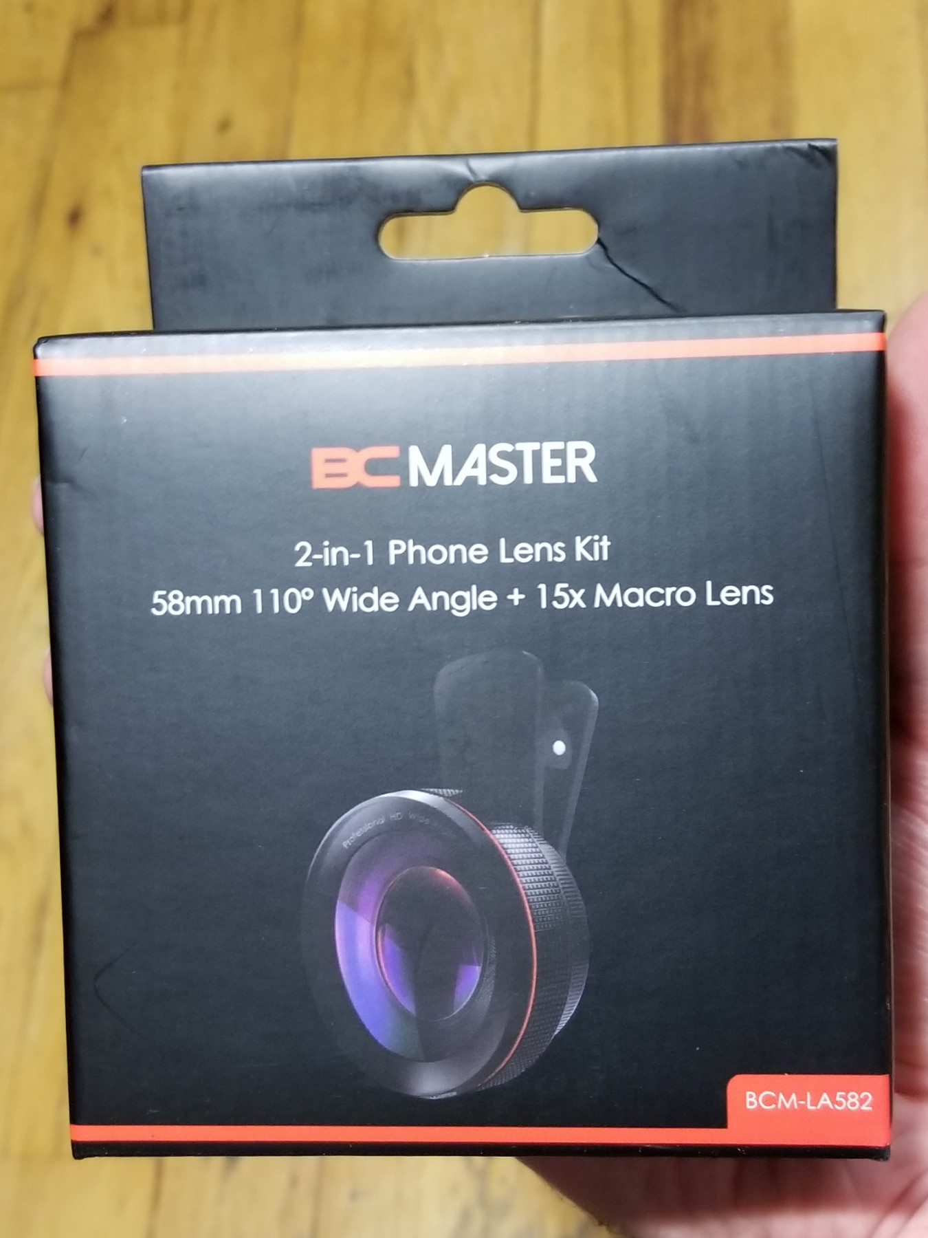 Overall, a good camera lens. Both wide angle and macro works great and feels very solid and not cheap.