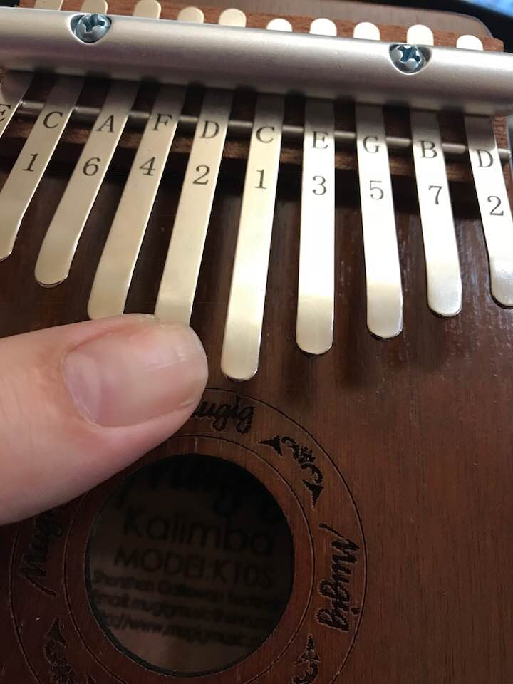 Gorgeous sounding Kalimba