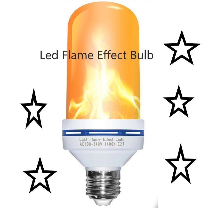 Pretty Cool Flame Effect Light Bulb!