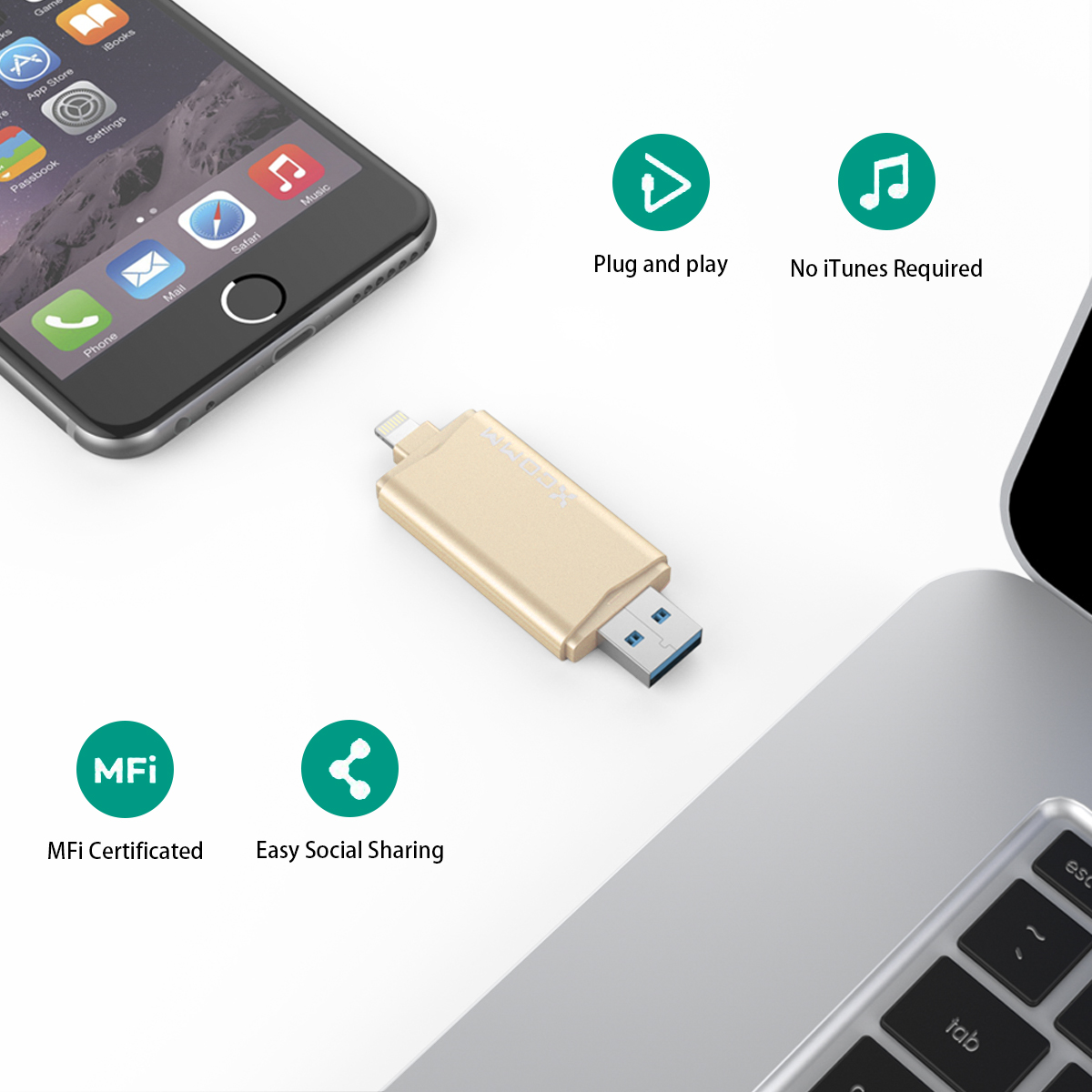 Amazing Flash drives for iPhone --free up more space for your iPhone