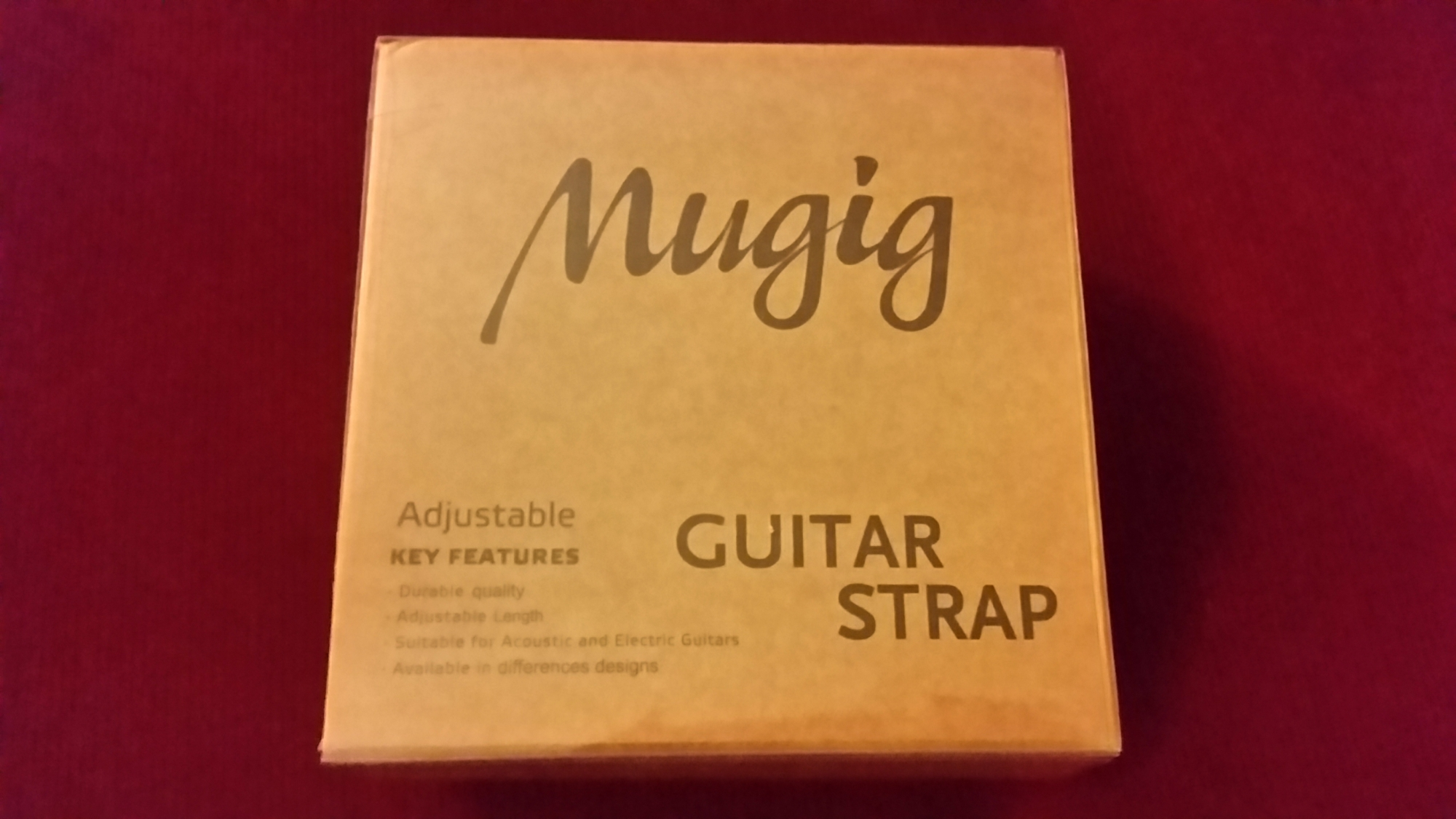 Nice Guitar Strap