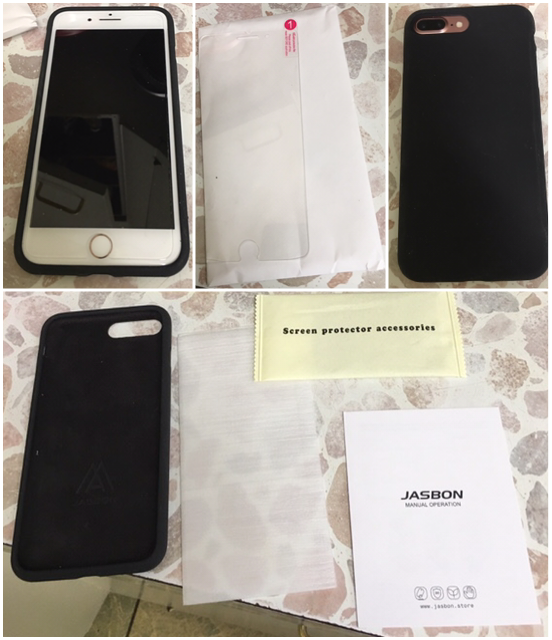Very nice screen protector and iPhone case kit