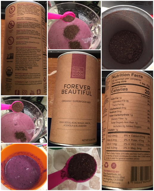 Your Superfoods Organic Smoothie