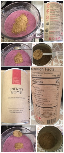 Your SuperFoods Energy Bomb Organic Smoothie Mix