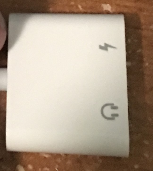 IPhone dongle iPhone 7 adapter