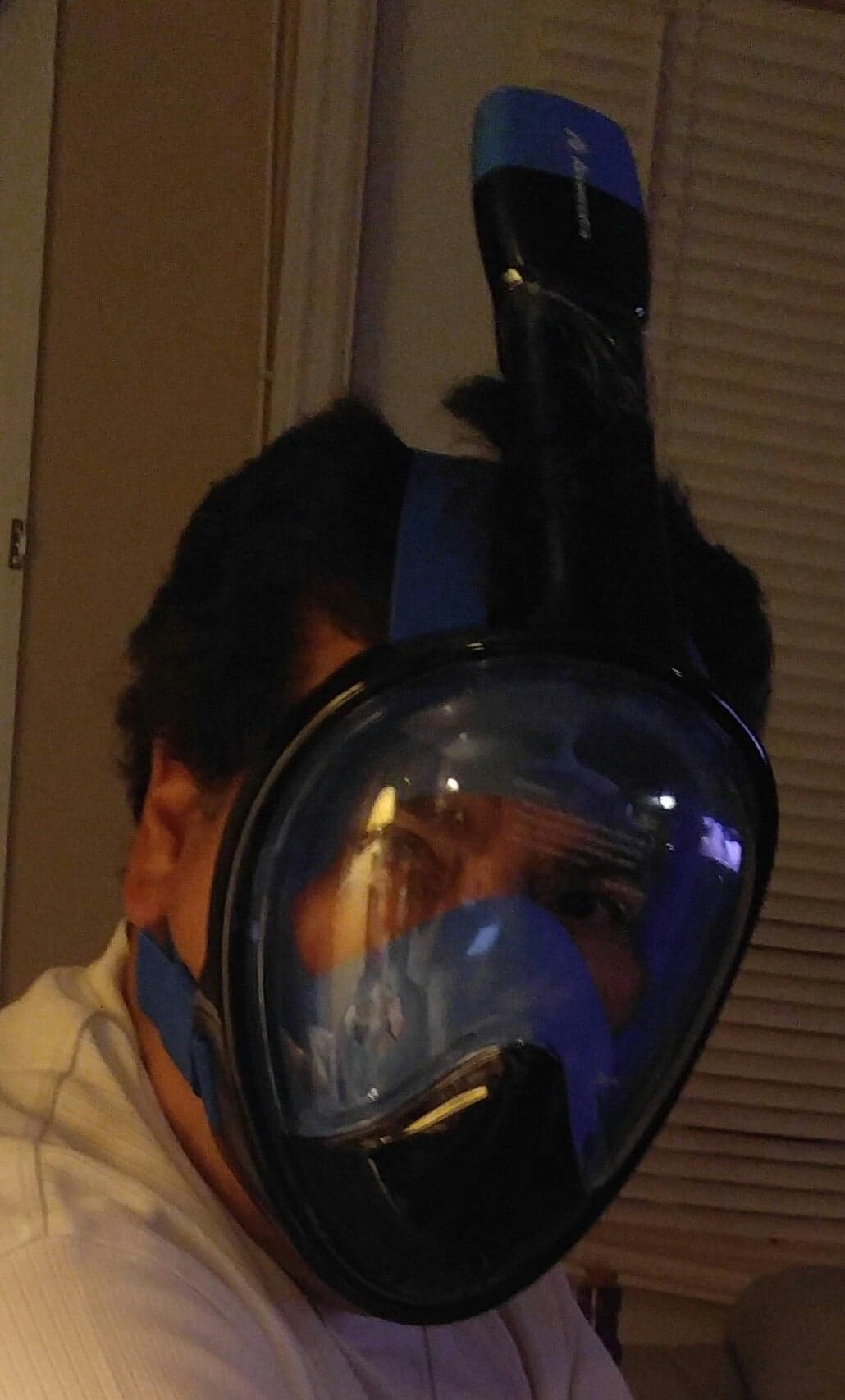 Snorkel mask 180°