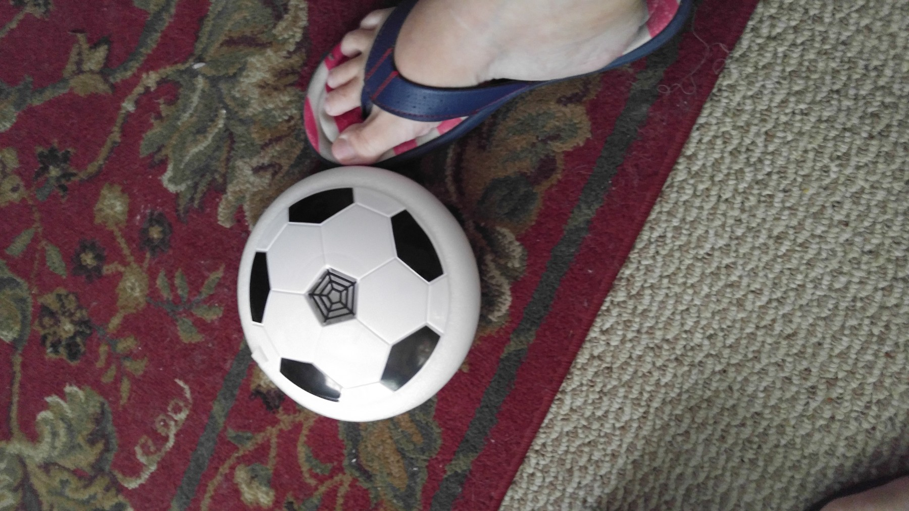 Amazing floating disk air hover ball toy