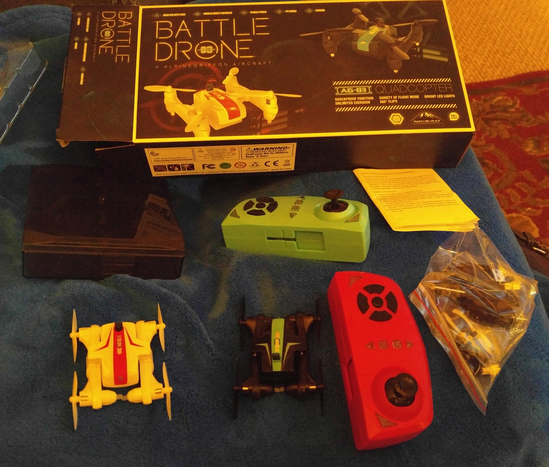 Mini drone wars battle drones