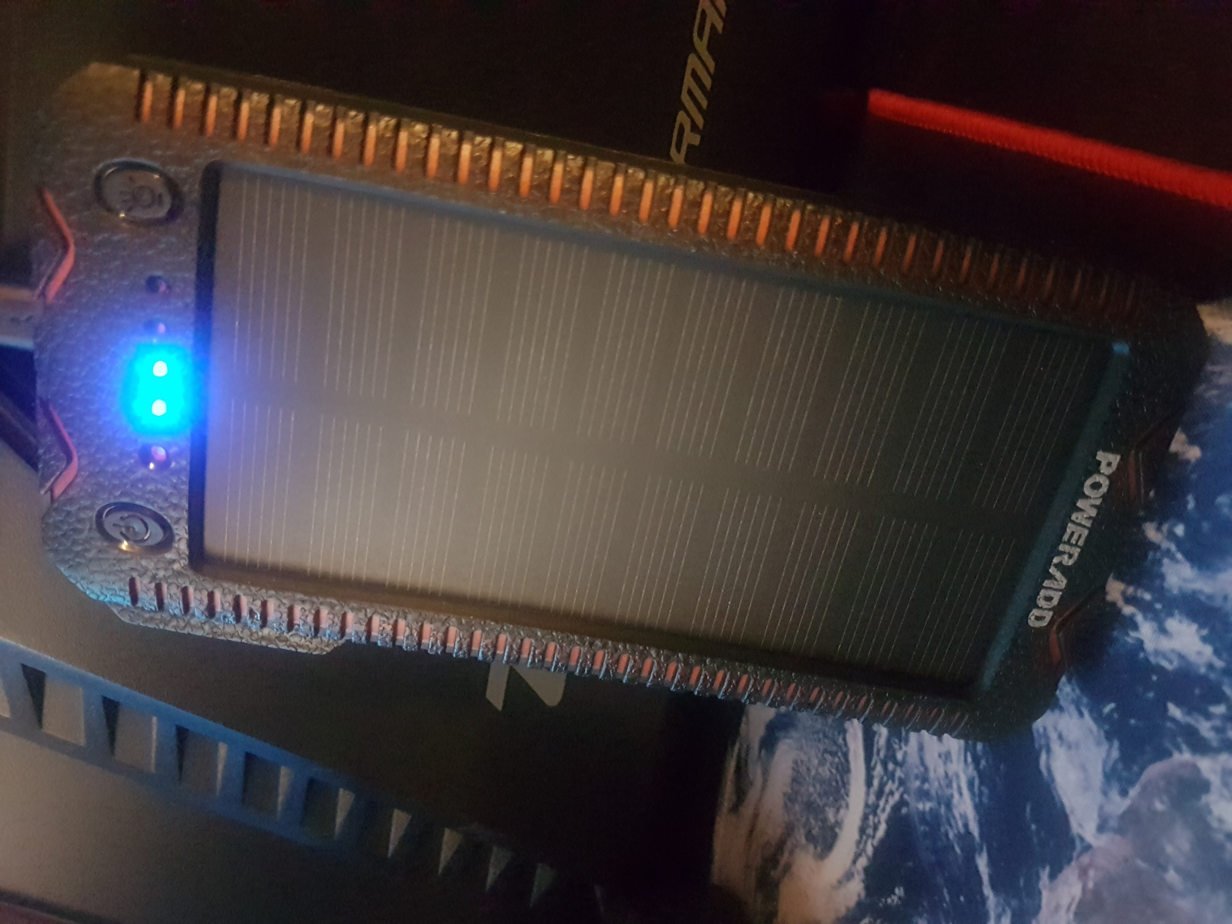 Bonne batterie externe solaire