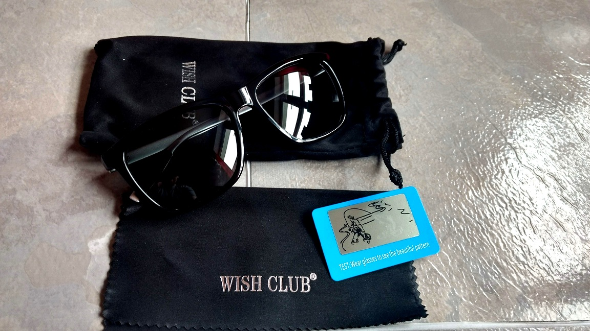 WISH CLUB UV400 Protection Lens Sunglasses