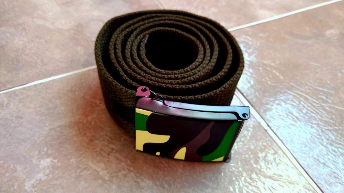 Vbiger Men's Casual Canvas Belt