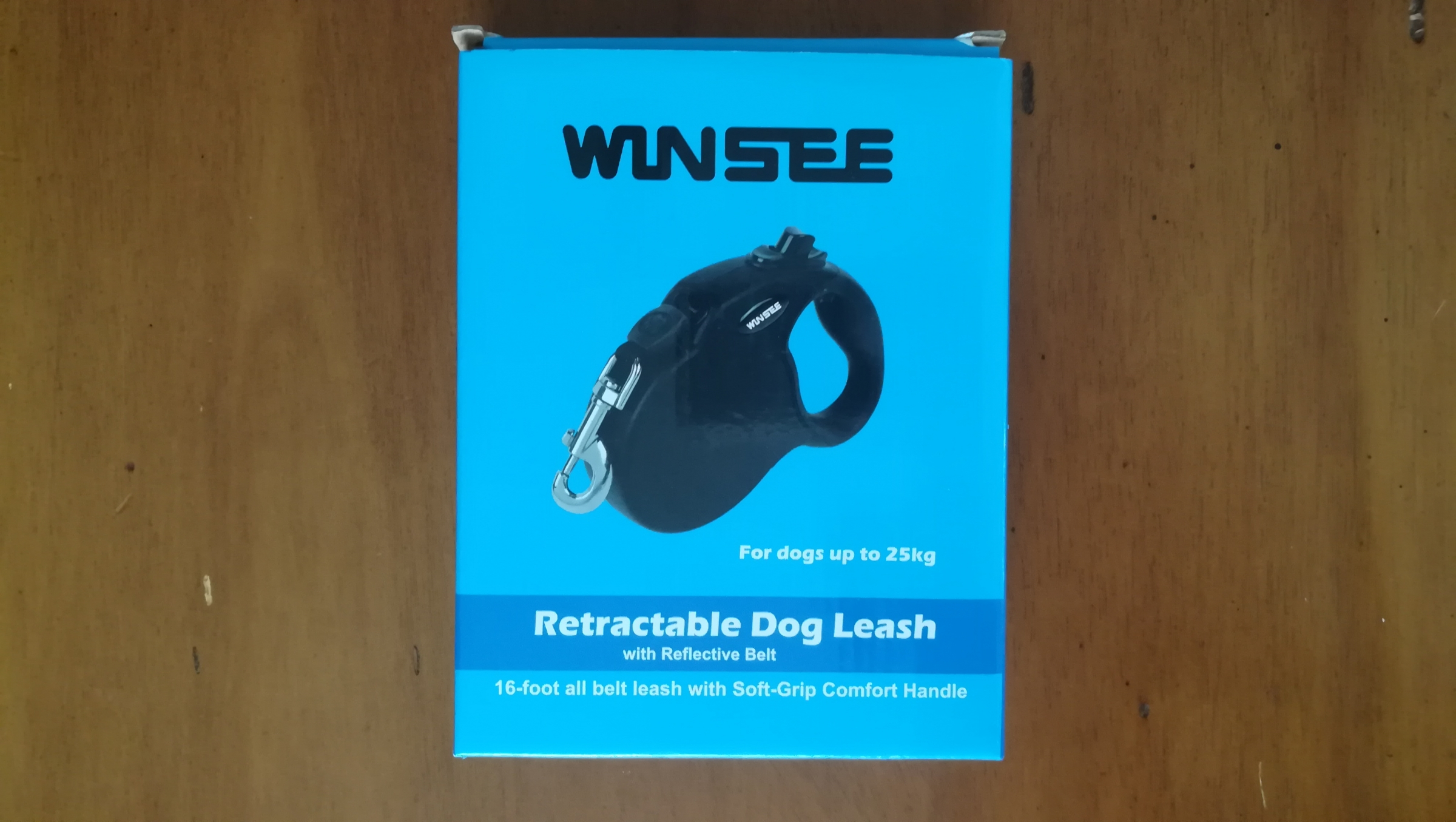 Our first retractable leash