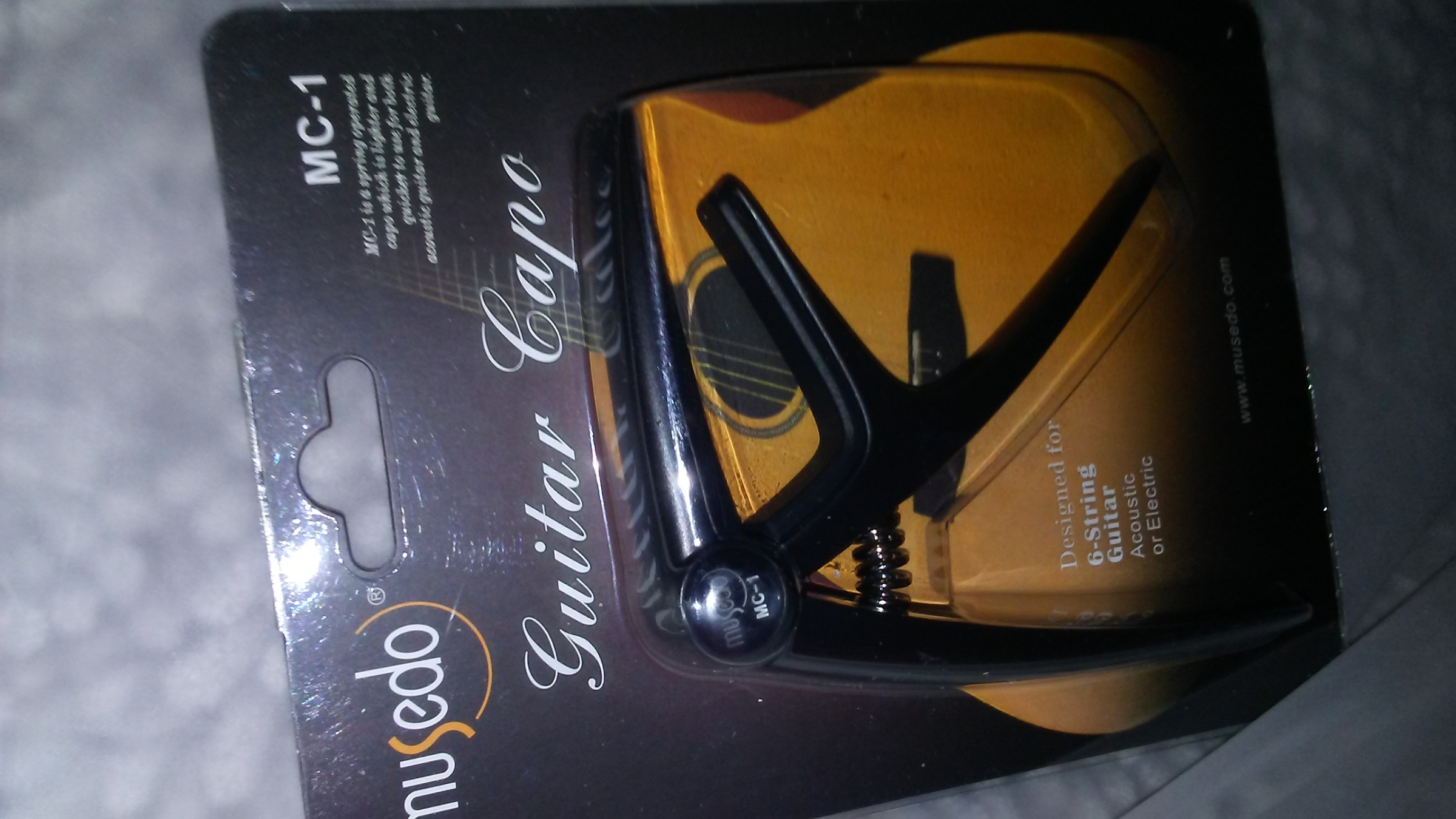 I bought this capo and tried it out on several of our guitars.